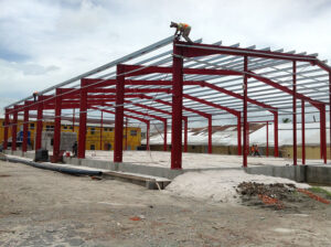 gnsc warehouse (structural frame)
