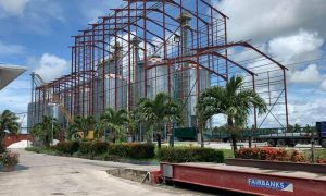 Design, Supply, Fabricate and Install 482_ x 155_ x 100_ Rice Mill Building- Hakh Rice Mills